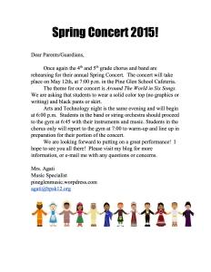 SpringCocnertNote2015