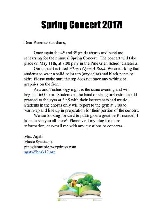 SpringConcertNote2017