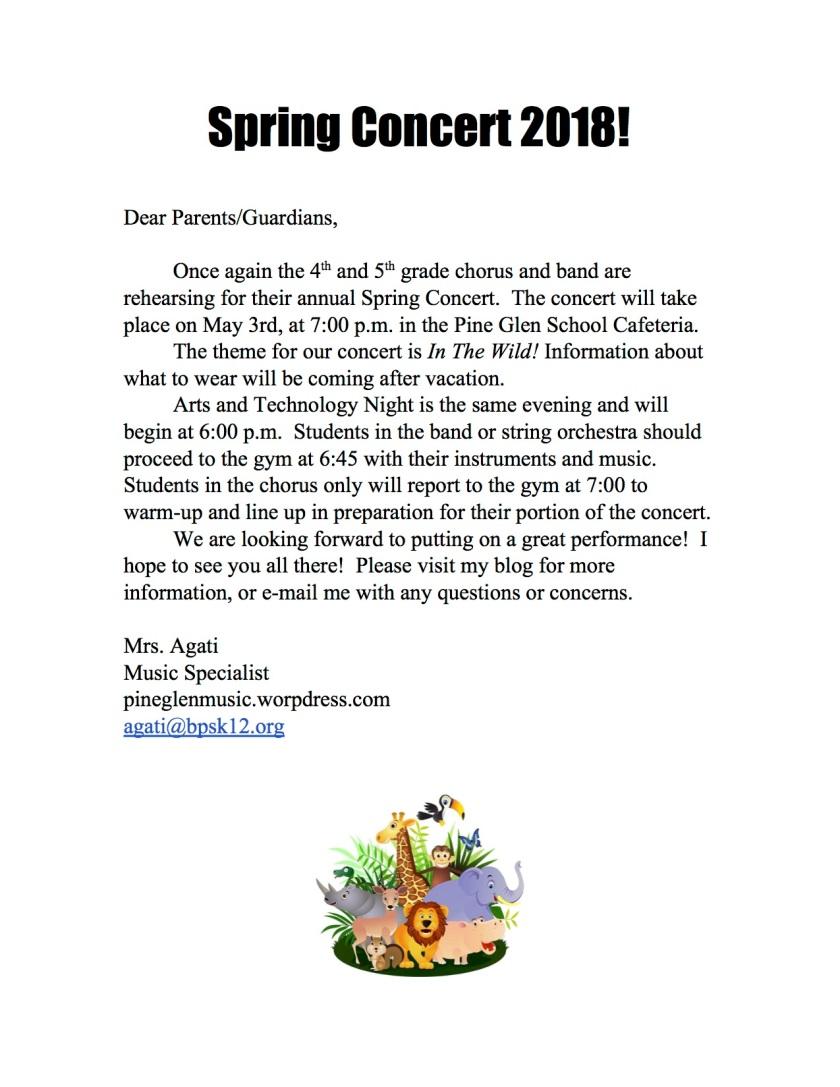 SpringConcertNote2018