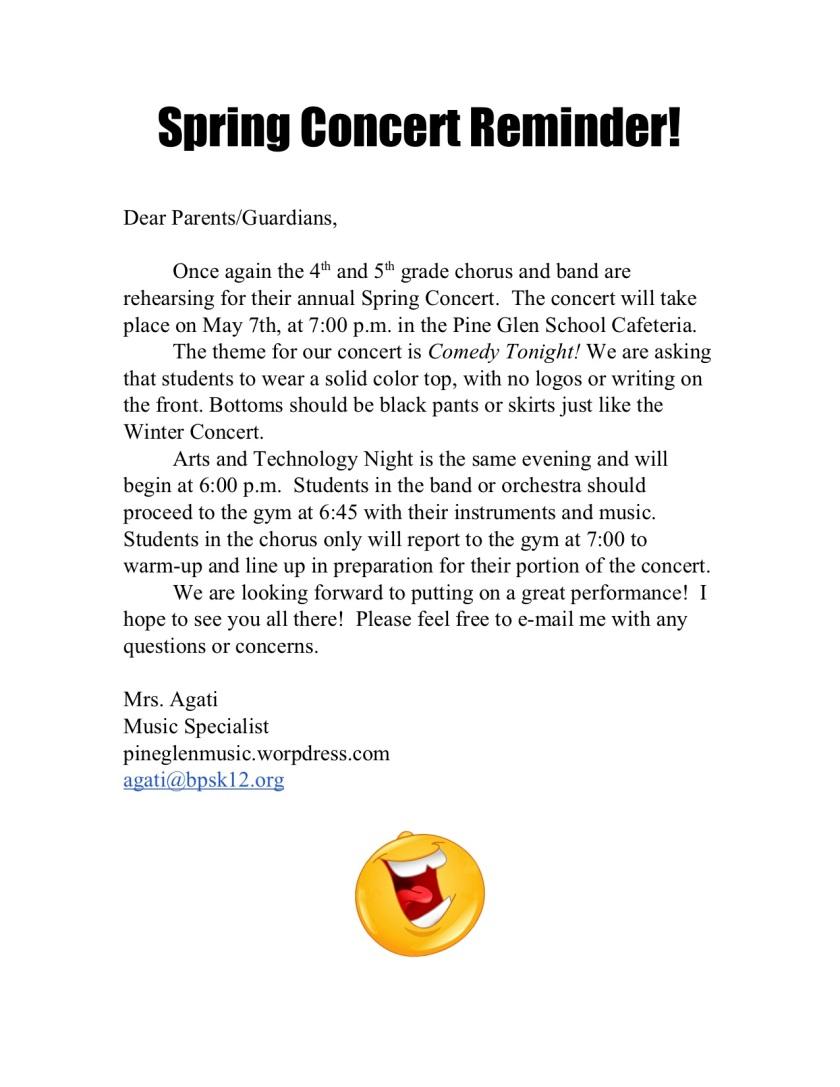 Copy of SpringConcertNote2019