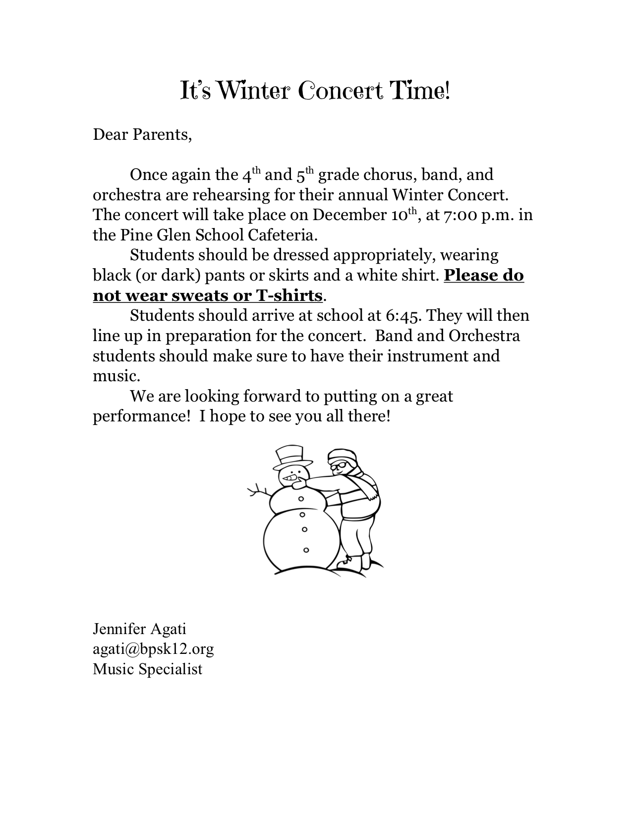 parent note for concert winter